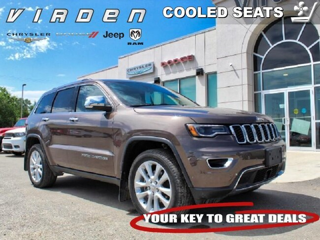 2017 Jeep Grand Cherokee Limited **LOW KMS!! LOCALLY OWNED!!** SUV 5933A