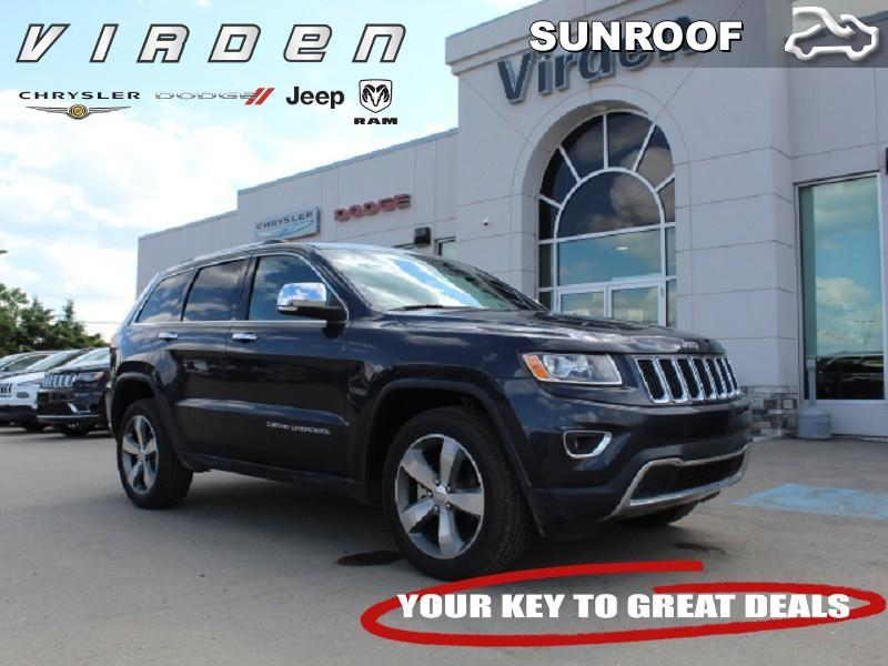 2016 Jeep Grand Cherokee Limited **LOW KMS!! REMOTE START!!** SUV 6310A