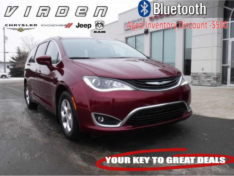 2018 Chrysler Pacifica Hybrid Touring Plus Van 5705