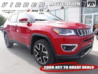2018 Jeep Compass Limited 4x4 SUV 6055 3C4NJDCBXJT493164