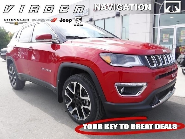 2018 Jeep Compass Limited 4x4 SUV 6055