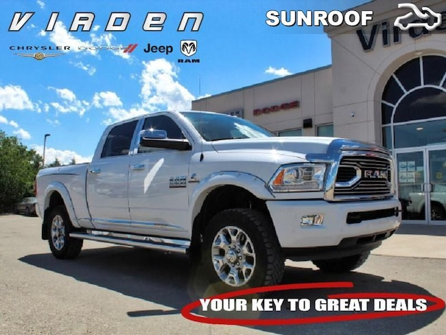 2017 Ram 2500 Laramie Longhorn **LOCALLY OWNED!! LOW KMS!!** Crew Cab 6321A