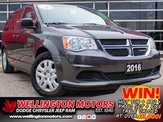 2016 Dodge Grand Caravan Canada Value Package W/ WARRANTY UNTIL 2023 Van Passenger Van