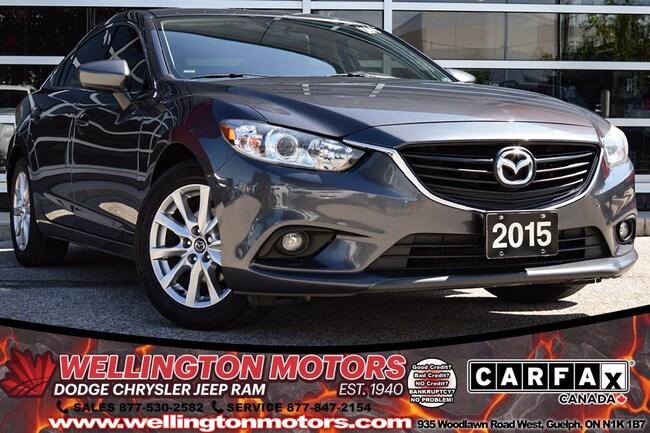 2015 Mazda Mazda6 GS / Leather / Navi / Bluetooth Audio .... Sedan