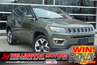 2019 Jeep Compass Limited / Bluetooth / 4x4 / Leather .... SUV