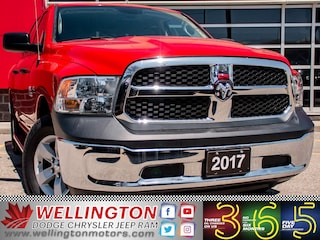 2017 Ram 1500 ST / Low Ks / 1 Owner / No Accidents ... Truck Crew Cab