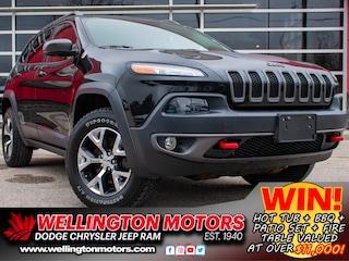 2015 Jeep Cherokee Trailhawk / 4X4 / DEALER CERTIFIED !! SUV