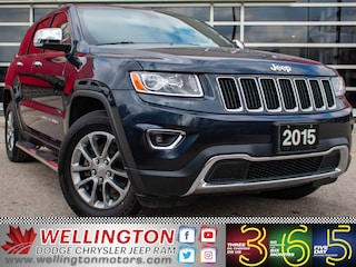 2015 Jeep Grand Cherokee Limited >> 4 NEW TIRES >> ACCIDENT FREE !! SUV