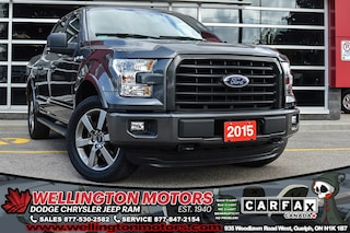 2015 Ford F-150 Sport / New Tires / Back-Up Cam / 4x4 ... Truck SuperCrew Cab