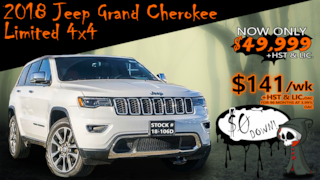 2018 Jeep Grand Cherokee Limited / Luxury Grp II / Quadra-Trac II System !! SUV
