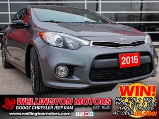 2015 Kia Forte Koup SX --> INCL. WINTER TIRES ON RIMS !! Coupe