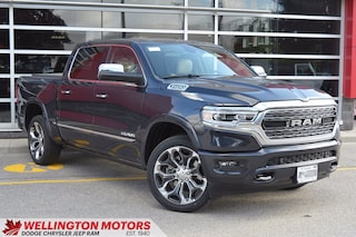 2020 Ram 1500 Limited / Level 1 Equipment Group / Leather Vented Truck Crew Cab