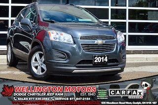 2014 Chevrolet Trax LT / No Acc. / Back-Up Cam / Hands-Fee ... SUV