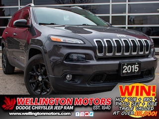 2015 Jeep Cherokee North --> New Front + Rear Brakes !! SUV