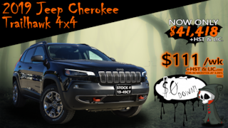 2019 Jeep New Cherokee Trailhawk Elite / Off-Road Group .... SUV
