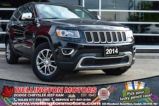 2014 Jeep Grand Cherokee Limited / Navigation / Sunroof / New Tires !! SUV