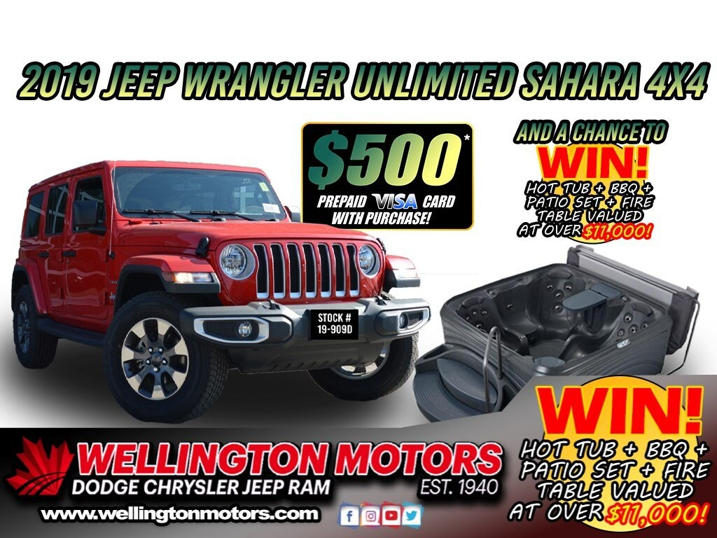 2019 Jeep Wrangler Sahara / Cold Weather Group  .... SUV