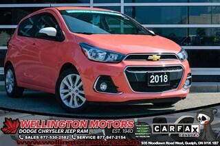 2018 Chevrolet Spark LT / Hands Free / Warranty / Back-Up Cam !! Hatchback