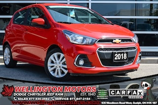 2018 Chevrolet Spark LT / No Accidents / Bluetooth Audio.... Hatchback