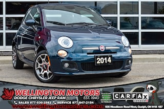 2014 FIAT 500 Sport / Low ks /  No Accidents / Bluetooth.... Hatchback