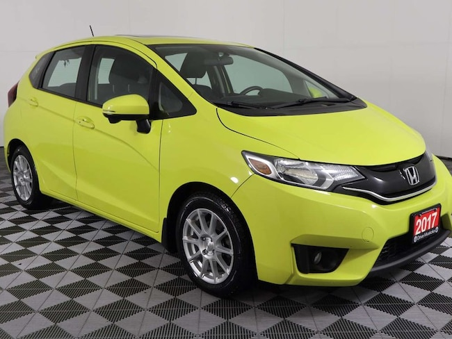 2017 Honda Fit EX-L w/Navigation, Sunroof, Heated Leather, Backup Sedan