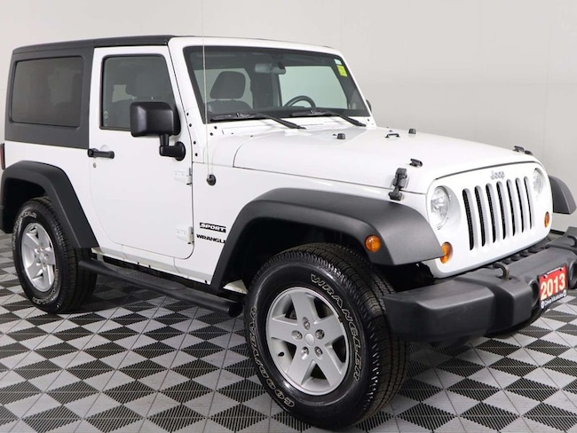 2013 Jeep Wrangler Sport w/AIR Conditioning, Cruise Control, Hard TOP SUV