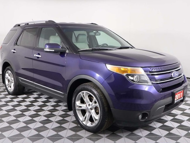 2011 Ford Explorer Limited w/Sony Audio, Heated Leather, Remote Start SUV