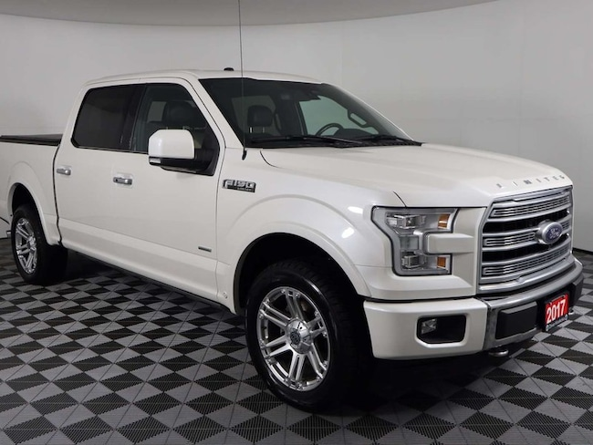 2017 Ford F-150 Limited w/Panoramic Roof, Adaptive Cruise, Power R Pickup