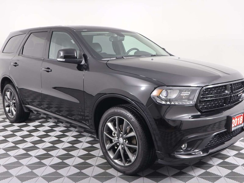 2018 Dodge Durango GT w/Nav, Rear DVD, Sunroof, Heated Seats and Whee SUV