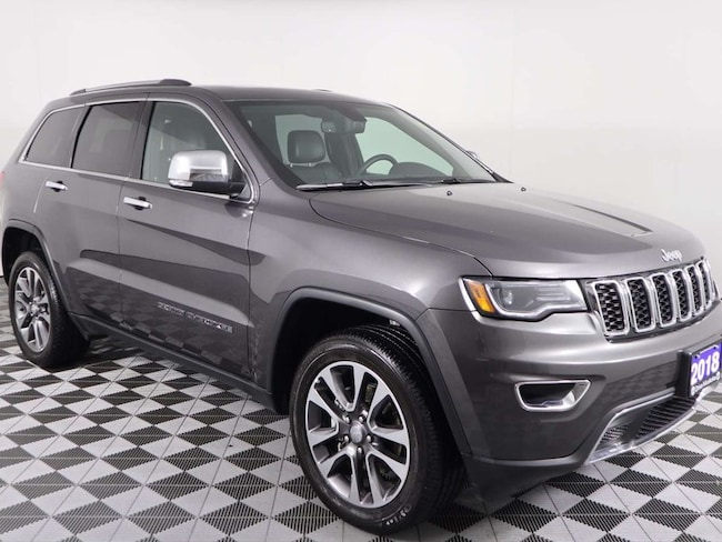 2018 Jeep Grand Cherokee Limited w/Panoramic Roof, Navigation, Heated AND C SUV