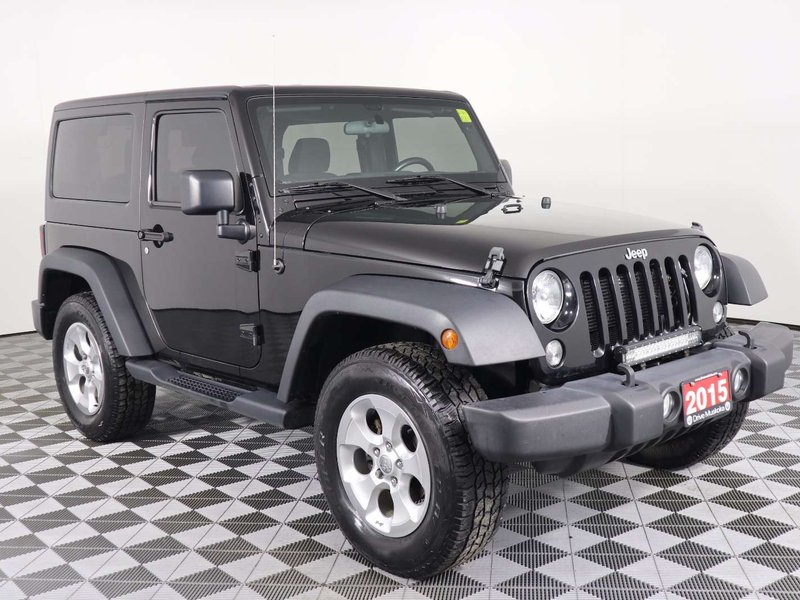 2015 Jeep Wrangler Sport w/Cruise, AIR Conditioning, Hard TOP, Blueto SUV