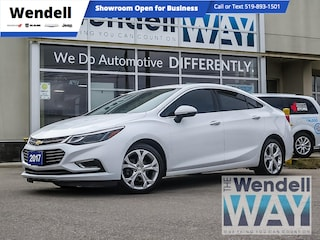 2017 Chevrolet Cruze Premier Leather/CarPlay Sedan
