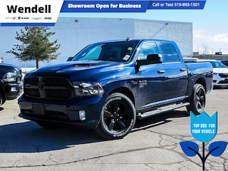 2021 Ram 1500 Classic Night Edition | Carplay | Spray-in Liner  4x4 Crew Cab 5.6 ft. box 140 in. WB