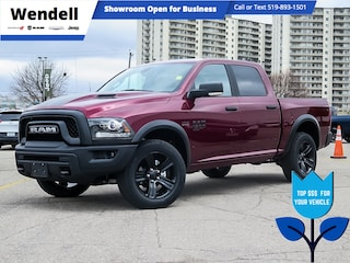 2021 Ram 1500 Classic Warlock | Nav | Remote Start 4x4 Crew Cab 5.6 ft. box 140 in. WB