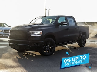 2021 Ram 1500 Sport | Night Edition | Ventilated Seats | Alpine  4x4 Crew Cab 144.5 in. WB