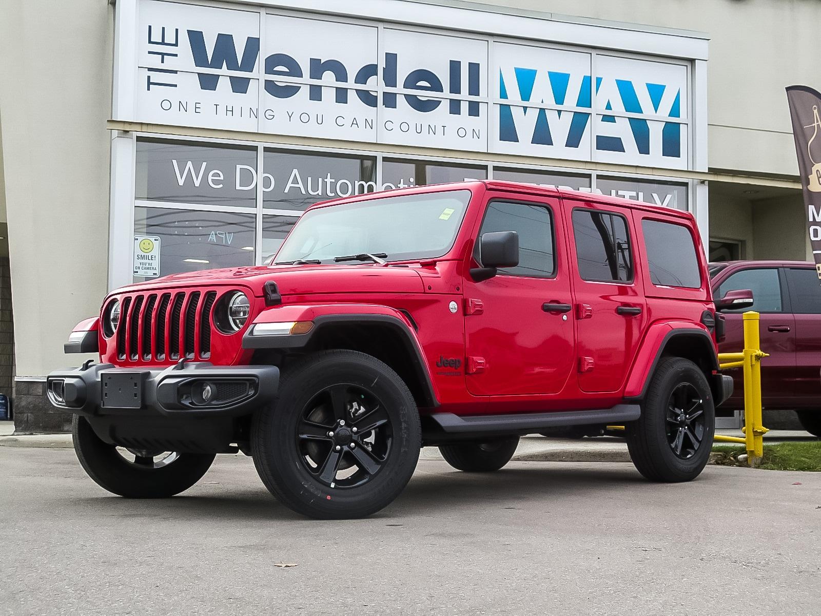 2020 Jeep Wrangler Unlimited Sahara Altitude Nav/Tow/Dual Tops SUV