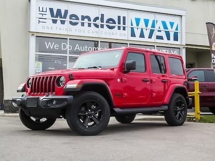 2020 Jeep Wrangler Unlimited Sahara Nav SUV