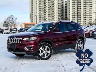 2021 Jeep Cherokee Limited | FWD Collision Warning | Pano Roof 4x4