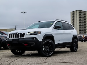 2020 Jeep Cherokee Trailhawk Elite | Blind Spot | Pano Roof | Tow Pkg SUV