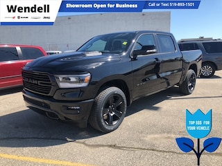 2021 Ram 1500 Sport | Nav | Remote Start 4x4 Crew Cab 144.5 in. WB