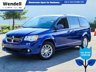 2020 Dodge Grand Caravan Premium Plus | Nav | DVD | Heated Seats Van