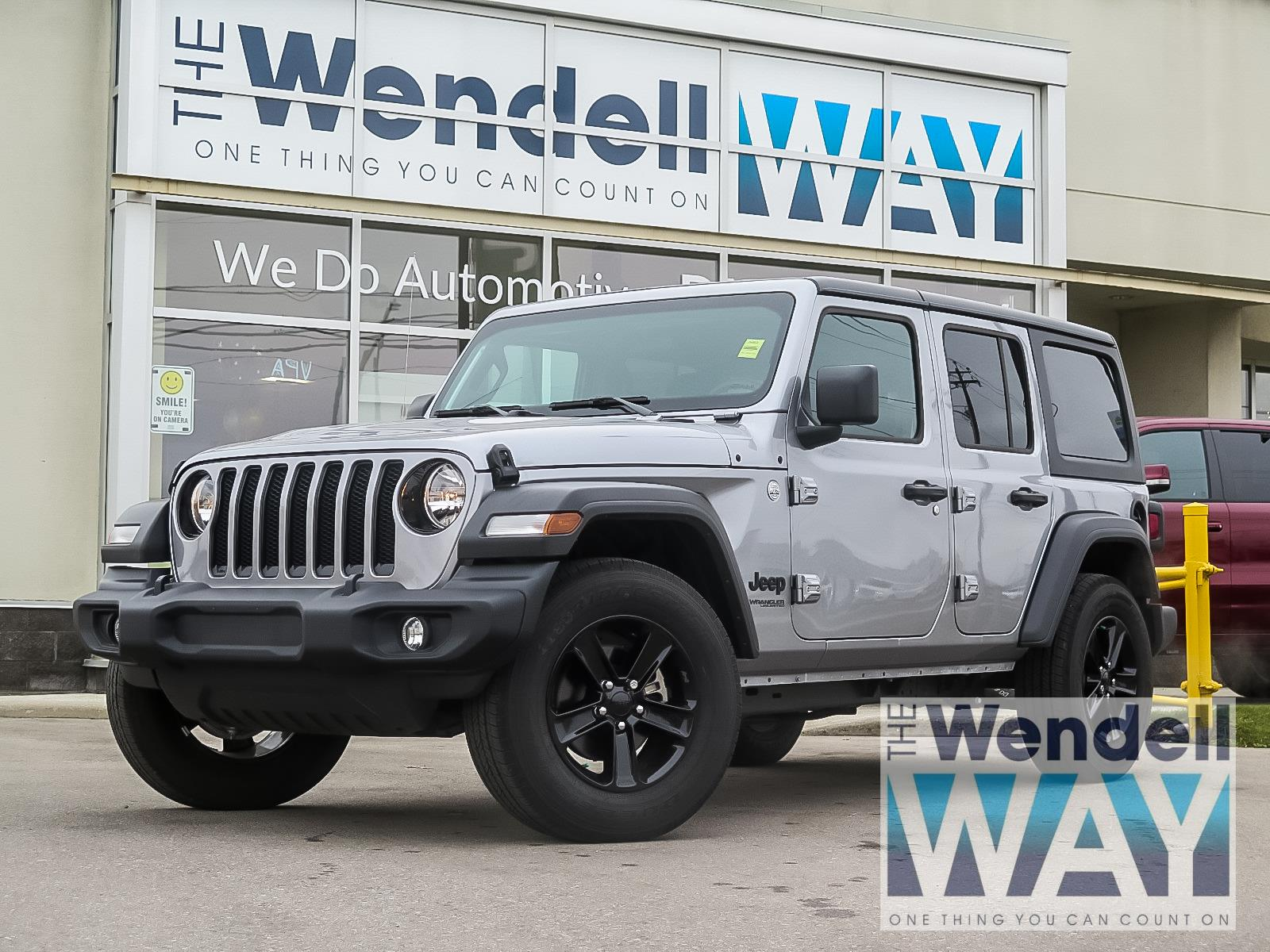 2019 Jeep Wrangler Unlimited Sport S Tech/Dual Tops SUV