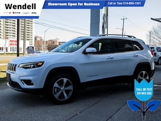 2021 Jeep Cherokee Limited | Adaptive Cruise | Pano Roof 4x4