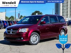 2020 Dodge Grand Caravan Premium Plus   Nav   Remote Start   Heated Seats Van