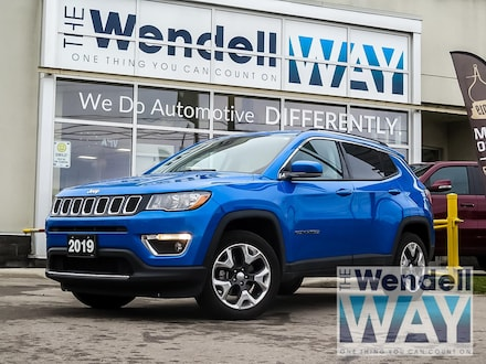 2019 Jeep Compass Limited 4x4 Low Kms | PRICED TO MOVE!!! SUV