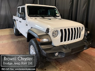 New 2020 Jeep Gladiator Sport S Truck Crew Cab 1C6HJTAG9LL133427 for sale in Westlock, AB