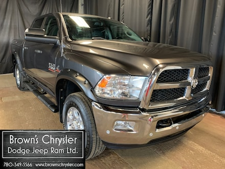 Featured Used 2016 Ram 2500 SLT, Crew Cab, Rambox, Luxury Group, Diesel for sale in Westlock, AB
