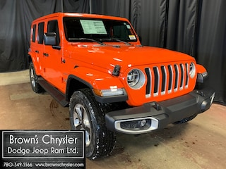 New 2020 Jeep Wrangler Unlimited Sahara SUV 1C4HJXEG0LW178538 for sale in Westlock, AB