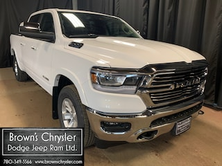 New 2021 Ram 1500 Laramie/Leather/LED Bed Lighting/Hitch Receiver 4x4 Crew Cab 153.5 in. WB 1C6SRFRT3MN536858 for sale in Westlock, AB