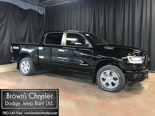 New 2019 Ram All-New 1500 Bighorn Crew CAB 4X4 /Level II / Sports Package Truck Crew Cab 1C6SRFFT7KN746249 for sale in Westlock, AB